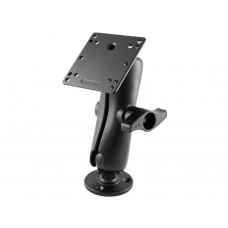 "Mount ′D′ 2.25"" Ball Arm with Round Base and VESA Plate"